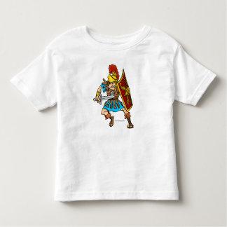 Fun Roman Soldier Design Toddler T-Shirt