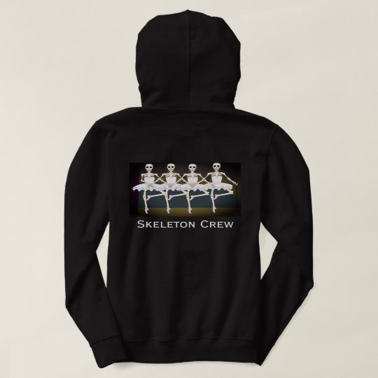 "Fun ""Skeleton Crew"" Dancing Skeletons Hoodie"