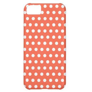 Fun Tangerine Dot iPhone 5 Case