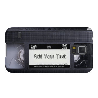 Fun Vintage 80s Retro_2 VHS Tape Cases For Galaxy S5