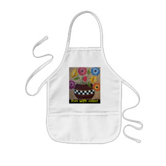 Fun with Color Kid s Apron