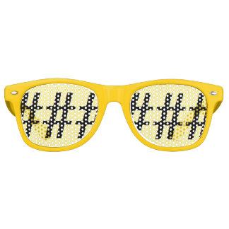 Fun Yellow Hashtag Party