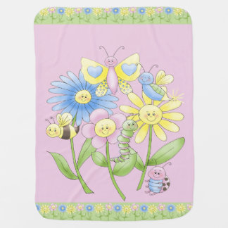 FunBugs Fleece Baby Blanket