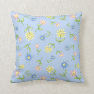 FunBugs Throw Pillow