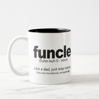 Funcle Definition Funny Quote Mug