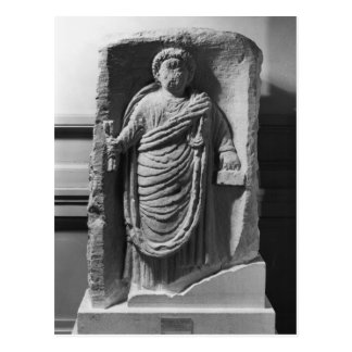 Funerary stela of a notary from Deux-Sevres Post Card