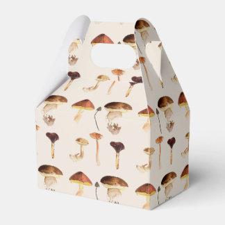 Fungi: Watercolour Art Party Favour Boxes