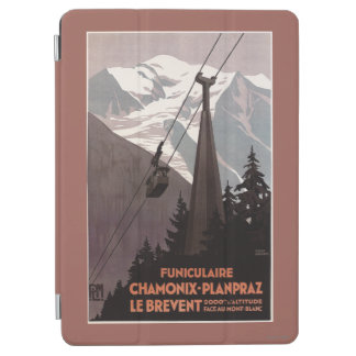 Funiculaire Le Brevent Cable Car Poster iPad Air Cover