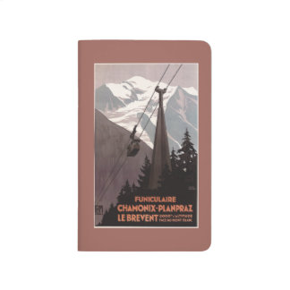 Funiculaire Le Brevent Cable Car Poster Journals