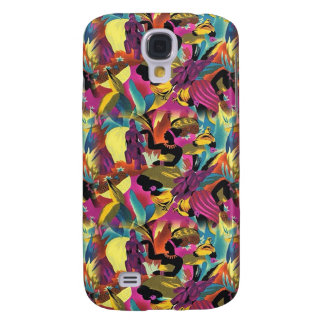 Funky African Pattern Galaxy S4 Case