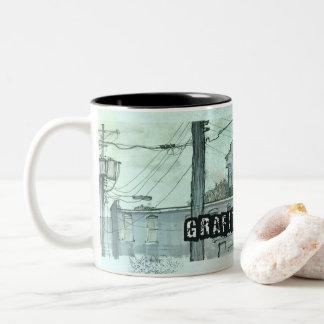 Funky and Grunge textured Coffee mug