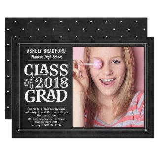 Funky Board Graduation Invitation Announcement