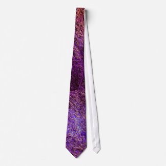 Funky Bold Abstract Violet Purple Tie