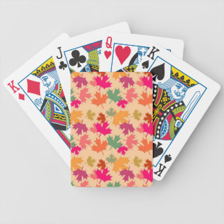 Funky Canadian Bicycle Playing Cards
