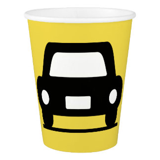 Funky Car Party Paper Cup