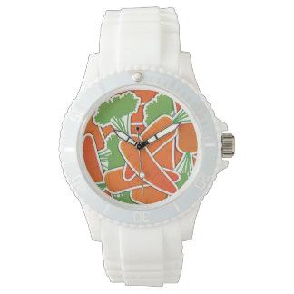 Funky carrot watch