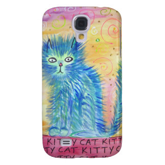 Funky Cat Galaxy S4 Case