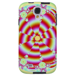 Funky Circle Fractal Galaxy S4 Case