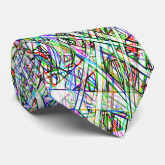 Funky Color Striped Tie