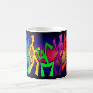 Funky Dancers Coffee Mug
