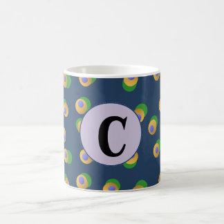 Funky Dots Letter Mug