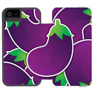 Funky eggplant incipio watson™ iPhone 5 wallet case