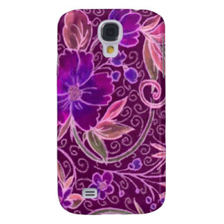 Funky Floral Pern Galaxy S4 Case