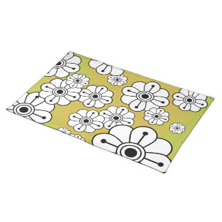 Funky Floral Placemat