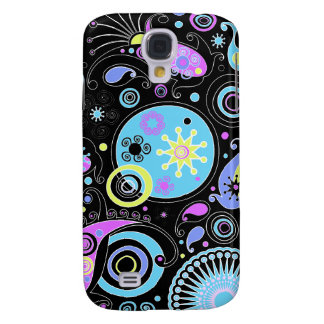 funky hippie retro abstract design galaxy s4 case