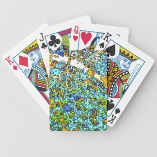 Funky Maps, LONDON Bicycle Playing Cards