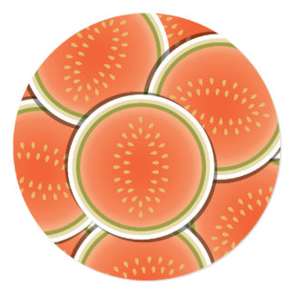 Funky melons card