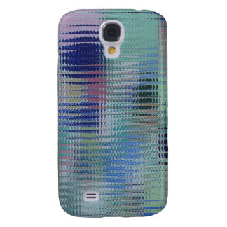 Funky Metallic Glass Abstract Galaxy S4 Case