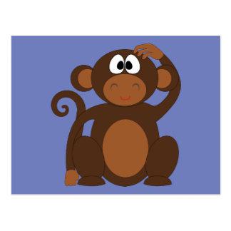 Funky Monkey Postcard