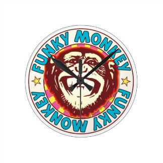 Funky Monkey Wall Clock