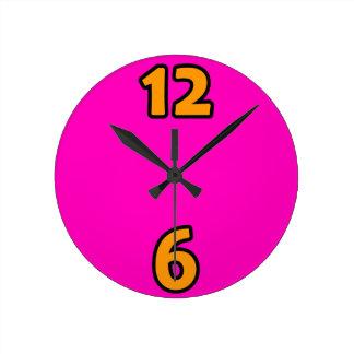 Funky Pink Clock
