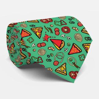 Funky Pizza Slices Tie
