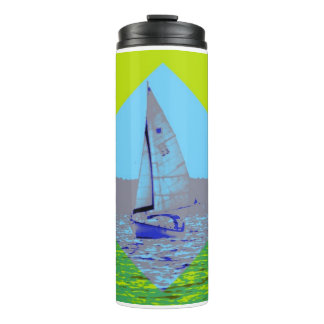 Funky Sailing Water Bottle