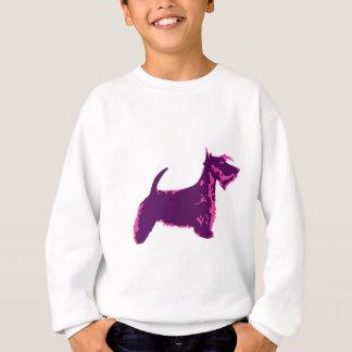 Funky Scottish Terrier Pop Art Sweatshirt