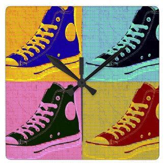 Funky Sneaker Clocks