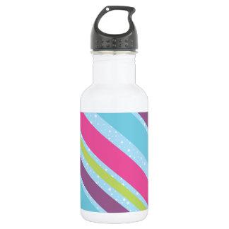 Funky Trendy Retro Abstract Pattern 532 Ml Water Bottle