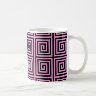 Funky Trendy Retro Abstract Pattern Coffee Mug