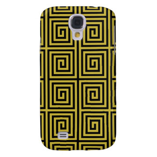 Funky Trendy Retro Abstract Pattern Galaxy S4 Case