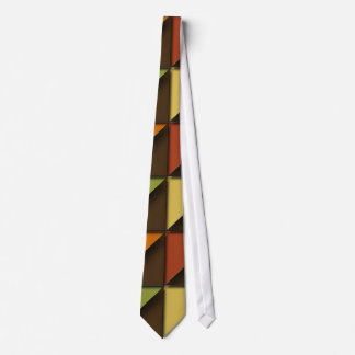 Funky Trendy Retro Abstract Pattern Tie