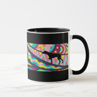 Funky Vizsla Coffee Time Mug