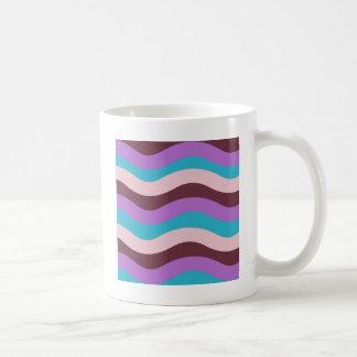 Funky Wave Design Coffee Mug