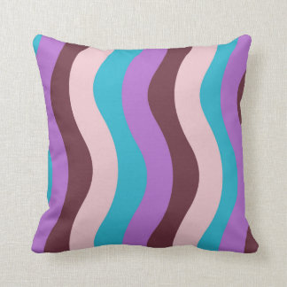 Funky Wave Stripes Cushion