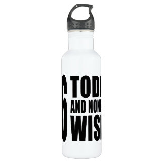 Funny 46th Birthdays : 46 Today and None the Wiser 710 Ml Water Bottle