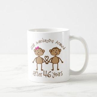 Funny 46th Wedding Anniversary Gifts Coffee Mug