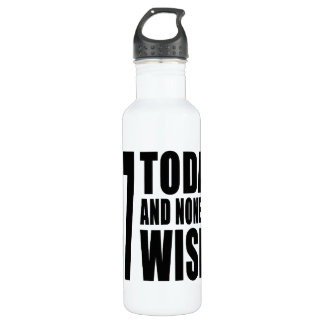 Funny 47th Birthdays : 47 Today and None the Wiser 710 Ml Water Bottle