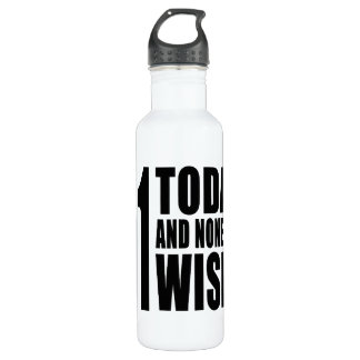Funny 51st Birthdays : 51 Today and None the Wiser 710 Ml Water Bottle